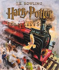 Harry Potter and the Sorcerers Stone: The Illustrated Edition Harry Potter