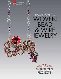 Nonfiction Book Review: Dallas Lovett\'s Woven Bead & Wire Jewelry ...