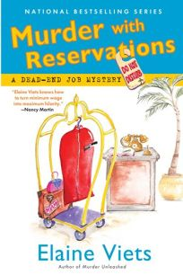 Murder with Reservations: A Dead-End Job Mystery