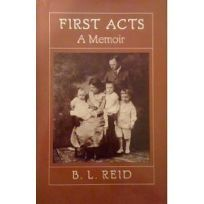 First Acts: A Memoir