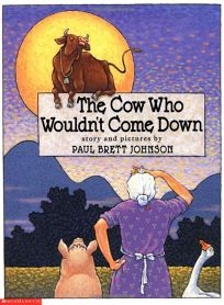 THE COW WHO WOULDNT COME DOWN