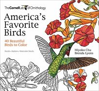 Americas Favorite Birds: 40 Beautiful Birds to Color