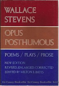 Opus Posthumous: Poems