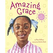 a review of amazing grace by mary hoffman Amazing grace by mary hoffman summary children's book review: amazing grace by mary hoffman , ``grace was a girl who loved stories'' empowered by.