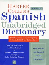HarperCollins Spanish Unabridged Dictionary