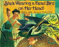 Shes Wearing a Dead Bird on Her Head!
