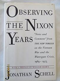 Observing Nixon Years