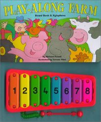 Play-Along Farm: Board Book & Xylophone [With Xylophone]
