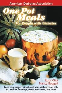 Nonfiction book review one pot meals for people with diabetes keep one pot meals for people with diabetes keep your suppers simple and your kitchen clean forumfinder Image collections