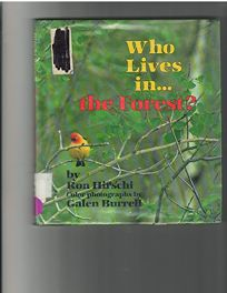 Who Lives In-- The Forest?