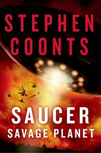 Fiction Book Review Saucer Savage Planet By Stephen Coonts St