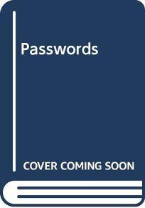 Passwords: Poems
