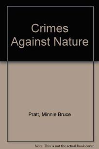 Crime Against Nature: Poetry