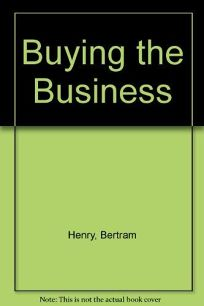Buying the Business