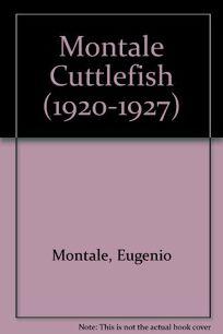 Cuttlefish Bones: 1920-1927