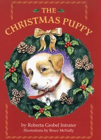 children s book review the christmas puppy by roberta grobel