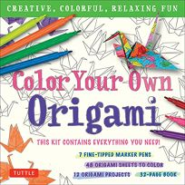 Color Your Own Origami Kit: Creative