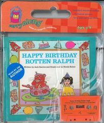 Happy Birthday Rotten Ralph [With 2 Sided Cassette]