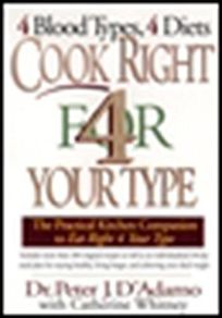 Nonfiction book review cook right 4 your type the practical cook right 4 your type the practical kitchen companion to eat right 4 your type fandeluxe Choice Image