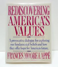 Rediscovering Americas Values