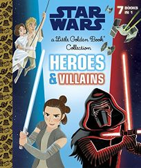 Heroes and Villains Little Golden Book Collection Star Wars
