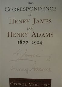 The Correspondence of Henry James and Henry Adams