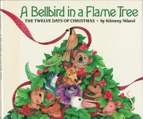 Bellbird in a Flame Tree