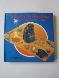 Whats in the Bag?: A Pop-Up Word Book