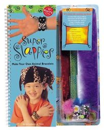 Super Slappies the Book: Make Animal Bracelets [With Craft Supplies Wiggle Eyes
