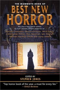 THE MAMMOTH BOOK OF BEST NEW HORROR: Volume 12