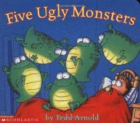 Five Ugly Monsters Board Book Reformat