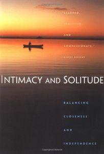 Intimacy and Solitude: Balance