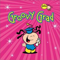 Groovy Grad [With Greeting Card]
