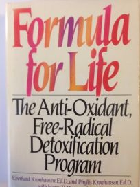 Formula for Life: The Anti-Oxidant