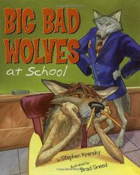 Children S Book Review Big Bad Wolves At School By border=