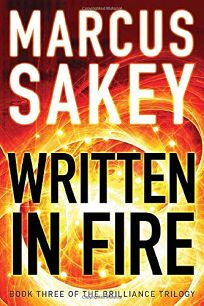 Written in Fire: Book 3 of the Brilliance Trilogy
