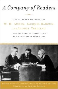 A Company of Readers: Uncollected Writings of W.H. Auden