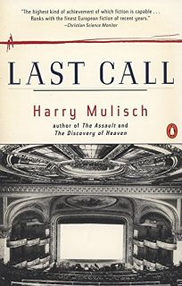 Fiction Book Review Last Call By Harry Mulisch Author