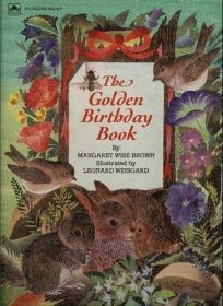 The Golden Birthday Book Bg St