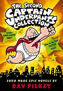 The Second Captain Underpants Collection [With Poster]