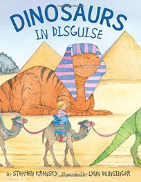 Children S Book Review Dinosaurs In Disguise By Stephen border=