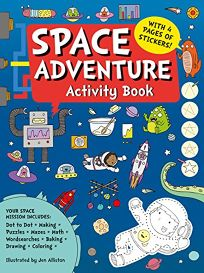 Space Adventure Activity Book
