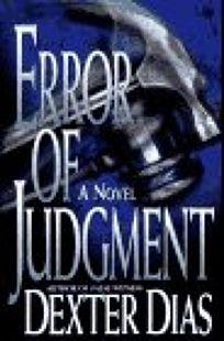 Error of Judgment