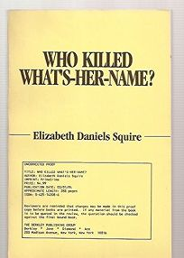 Who Killed Whats-Her-Name?