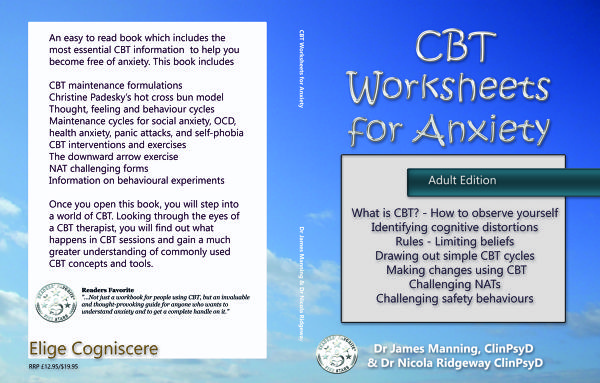 CBT Worksheets for Anxiety by James Manning – Free Cbt Worksheets