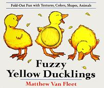 Fuzzy Yellow Ducklings: Fold-Out Fun with Textures