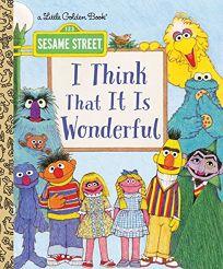 I Think That It Is Wonderful Sesame Street