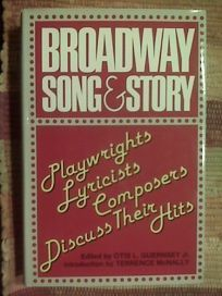Broadway Song & Story: Playwrights/Lyricists/Composers Discuss Their Hits