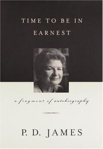 Time to Be in Earnest: A Fragment of Autobiography