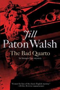 The Bad Quarto: An Imogen Quy Mystery